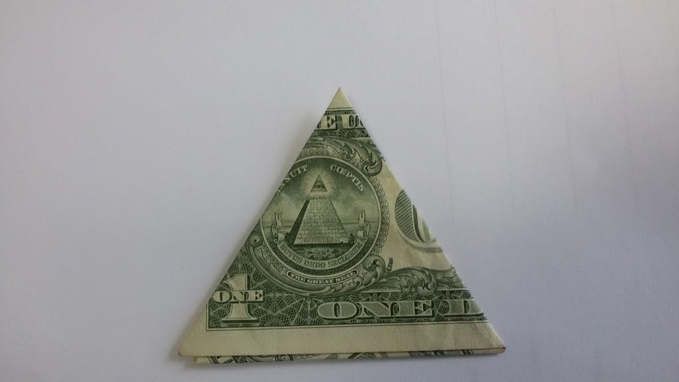 Как свернуть доллар для привлечения денег пошаговое